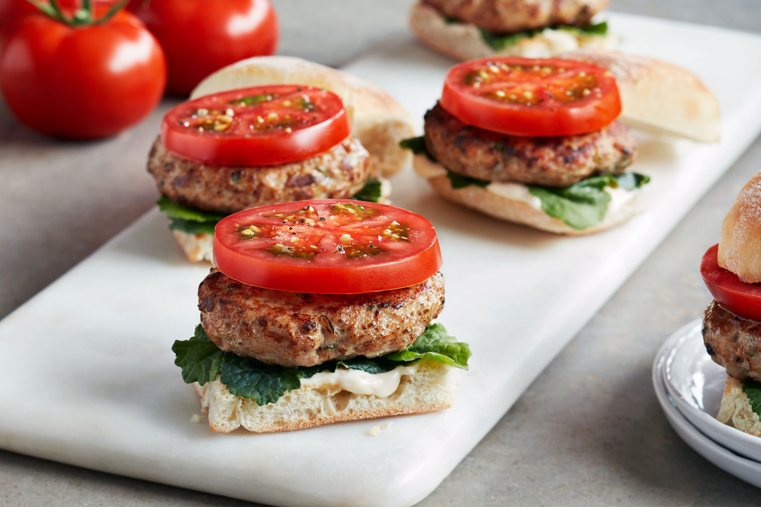 SUNSET turkey sliders
