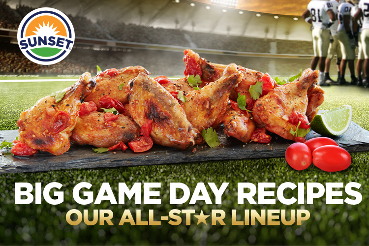 SUNSET's Big Game Day Recipes