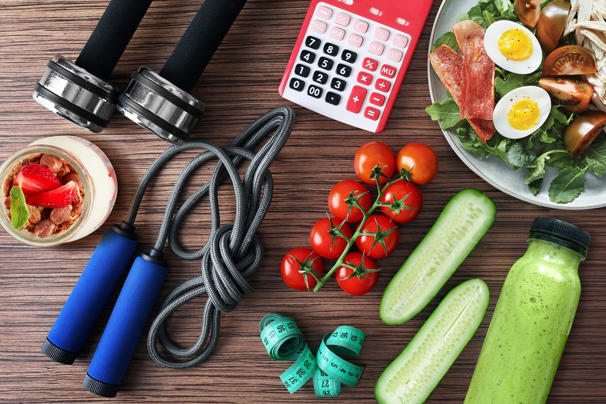 Fitness equipment and produce