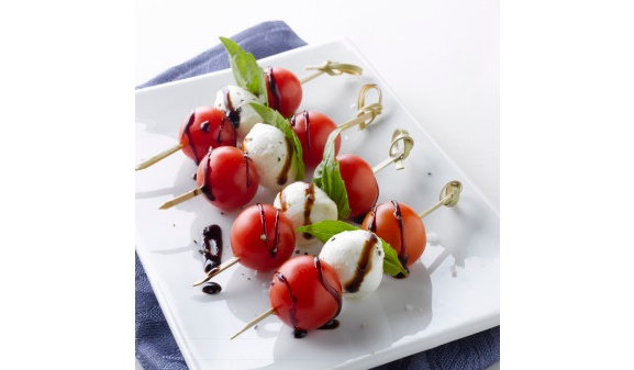 SUNSET®-One-Sweet™-Tomatoes-Caprese-Cocktail-Piks-with-Balsamic-Glaze-332x445