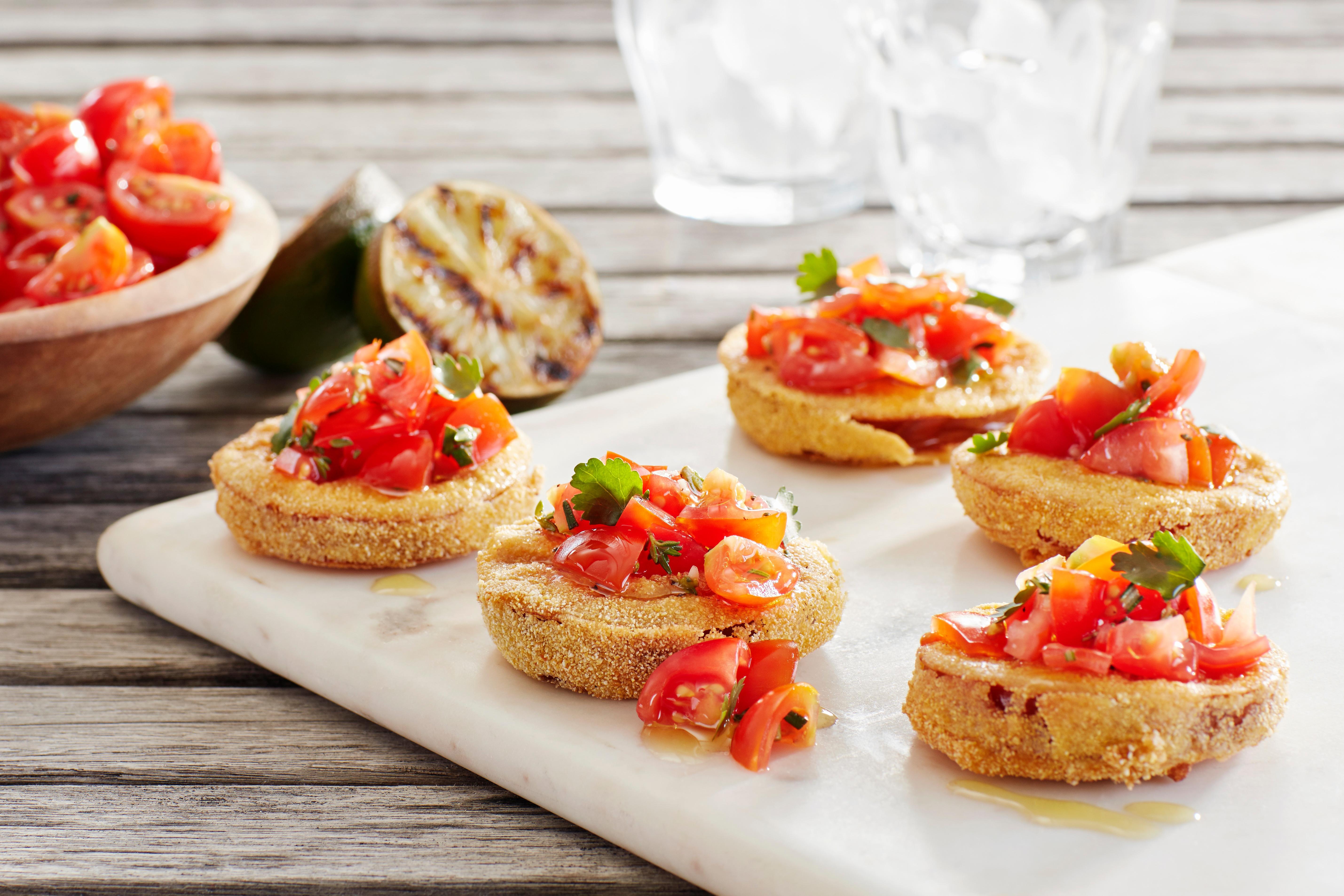 Fried Kumato Tomato Recipe