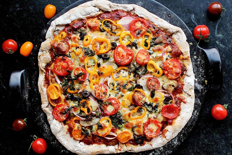 Homemade SUNSET® Campari® pizza sauce