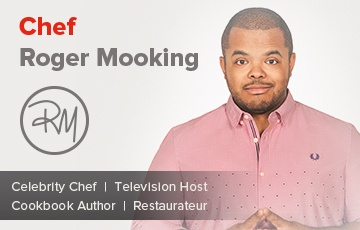 Chef Roger Mooking | Celebrity Chef | Television Host | Cookbook Author | Restaurateur